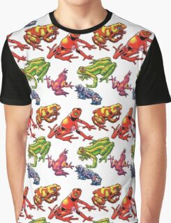 Frogs.  Graphic T-Shirt