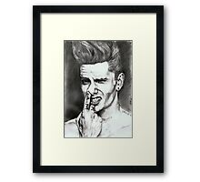 nice hairstyle Framed Print