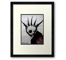 Punk Macabre Framed Print
