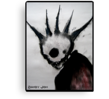 Punk Macabre Canvas Print