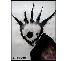 Punk Macabre Photographic Print
