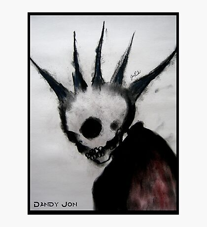 Punk Macabre Photographic Print