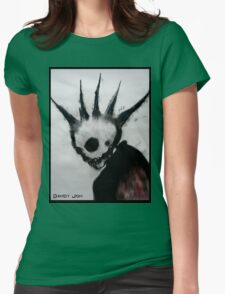 Punk Macabre Womens Fitted T-Shirt