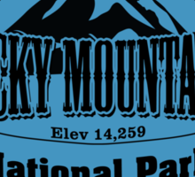 Rocky Mountains National Park, Colorado Sticker
