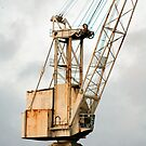 Crane on the Clyde by Peter Cassidy