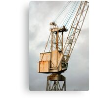 Crane on the Clyde Canvas Print