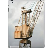 Crane on the Clyde iPad Case/Skin