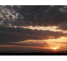 Casuarina Sunset 2 Photographic Print