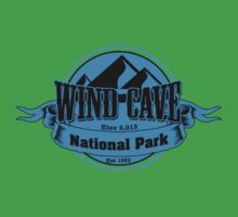 Wind Cave National Park, South Dakota One Piece - Short Sleeve