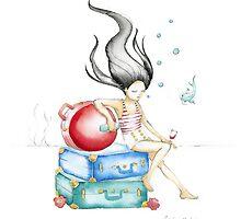 Booze n Baggage I by carolinemudge