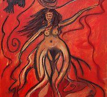 Crow Wind Mama by Jani Franck
