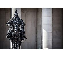 Guarding Parliament Photographic Print