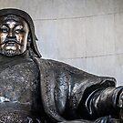 Chinggis Khan Protecting UB by Ruben D. Mascaro