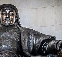 Chinggis Khan Protecting UB by Ruben D. Mascaro