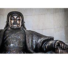 Chinggis Khan Protecting UB Photographic Print