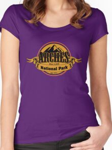 Arches National Park, Utah Women's Fitted Scoop T-Shirt