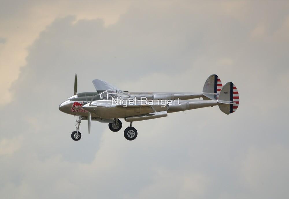 Lockheed P-38L Lightning by Nigel Bangert