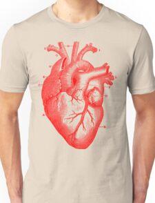 Oversized Anatomical Heart T-Shirt Unisex T-Shirt