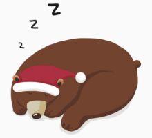 Merry Christmas, Bear Kids Tee