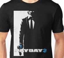 Payday 2 - Black N' White #2 Unisex T-Shirt