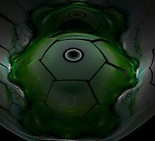 Alien Spacecraft by James Brotherton