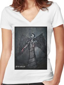 Marquis In Spades Women's Fitted V-Neck T-Shirt