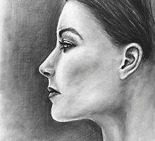 Womans Profile by Nicole Zeug