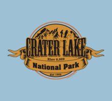 Crater Lake National Park, Oregon One Piece - Short Sleeve