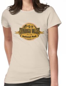 Cuyahoga Valley National Park, Ohio Womens Fitted T-Shirt