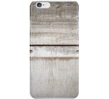 Board Marked Concrete - Denys Lasdun iPhone Case/Skin