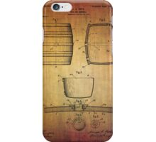 J.c.roth Beer Keg Patent From 1898 iPhone Case/Skin