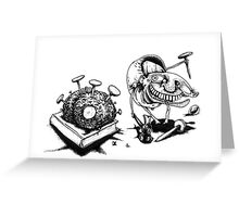Brain Surgeon by Nigel Adams Greeting Card