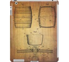 J.c.roth Beer Keg Patent From 1898 iPad Case/Skin