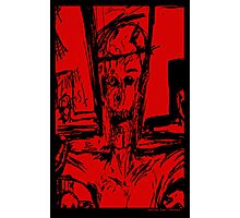 Zombie Christ (In Red) Photographic Print