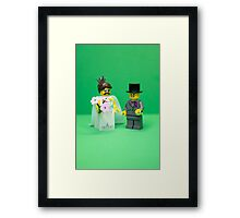 A thoroughly modern marriage Framed Print