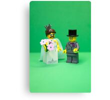 A thoroughly modern marriage Canvas Print
