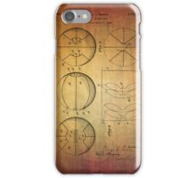 Basket Ball Patent From 1929 iPhone Case/Skin