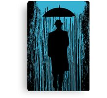 Downpour Canvas Print