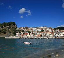 Parga in Epirus, Greece by DRWilliams