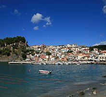 Parga in Epirus, Greece by DRWilliams