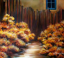 Mrs Becker's Fence by Susan Bergstrom