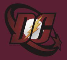 DC Flash Logo by Laura Mancini