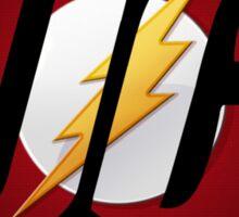 DC Flash Logo Sticker