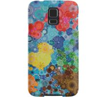 Spirograph world map Samsung Galaxy Case/Skin
