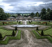 Bowes Museum View by Andrew Pounder
