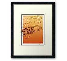 Sandlock Framed Print