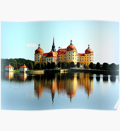 Moritzburg Castle Poster