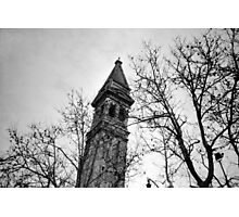 Just Another Leaning Tower - Lomo Photographic Print