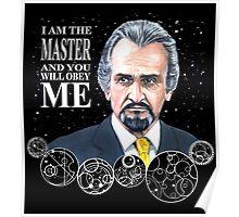 The Master (Roger Delgado) Poster