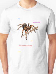 A spider with a baseball bat T-Shirt